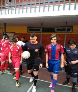 Cadete 'B' 2 - 4 Valencia FS