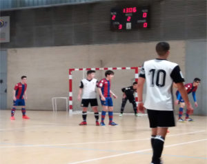 Valencia Academia 5 - 2 Infantil 'B'