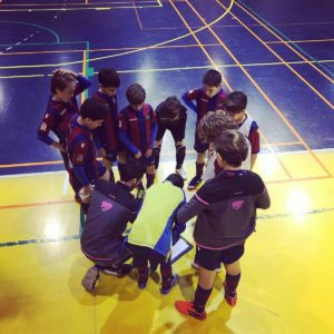 Jugadores de la Base del C.D. Dominicos - Levante U.D.