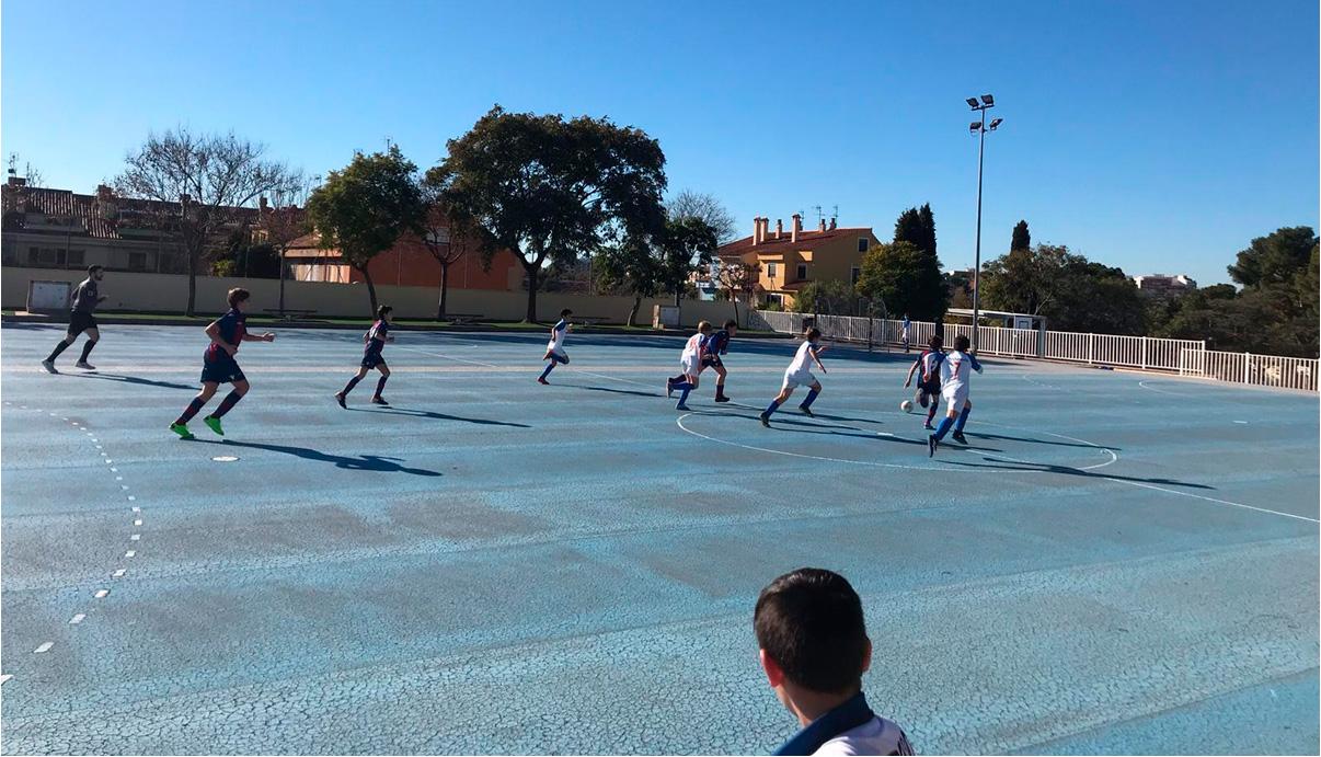 Colegio El Armelar 0 - 7 Infantil 'B'