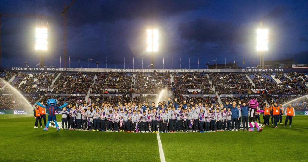 Base en el Ciutat de València - Levante U.D. 2 - 0 Real Valladolid