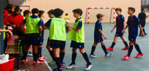 Infantil 'A' 5 - 2 La Salle