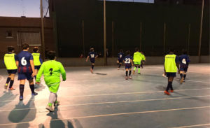 Valencia 0 - 4 Infantil 'B'